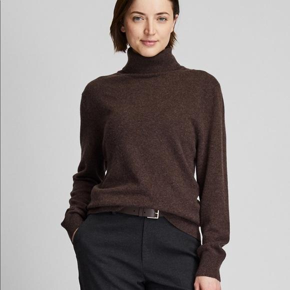 Uniqlo Sweaters | Cashmere Turtleneck Sweater | Poshmark